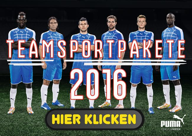 <h2>Puma Teamsportpakete 2016</h2>