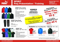 SPIRIT Poly Präsentation / Training
