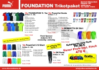 Trikotpaket FOUNDATION