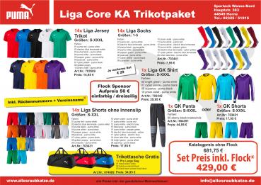 Puma Trikotsatz Liga Core Trikot Senior