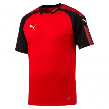Puma-Ascension-Training-Jersey-rot-schwarz