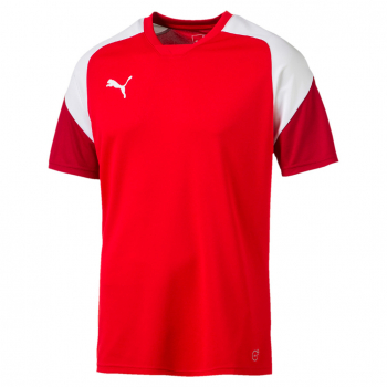 Puma Esito 4 Training-Jersey- red white chili pepper