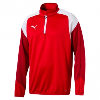 Puma Esito 4-Training-Zip-Top rot-weiß