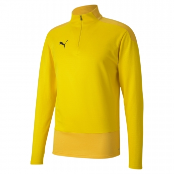 team Goal23 Training 1/4 Zip Top gelb