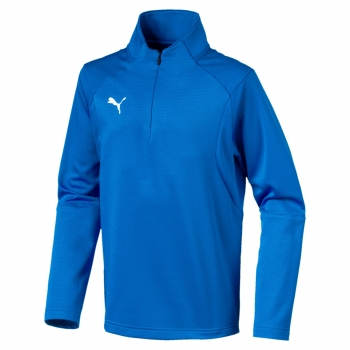 Puma Training Sweat electricblue lemonade white