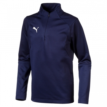 Puma Training Sweat navy blau