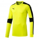 puma triumphant goalkeeper torwart trikot fluo yellow