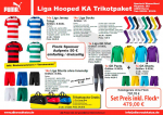Puma LIGA Hooped Trikot Paket Senioren