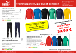 Puma Liga Trainings Paket Zip Sweat Senioren