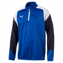 Puma Esito 4-Training-Zip-Top blau-weiß