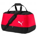 Football Bag rot schwarz