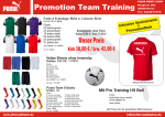 Puma Promotion Team Trainings Set