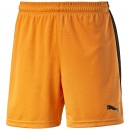 Puma Pitch Shorts mit Innenslip orange-schwarz